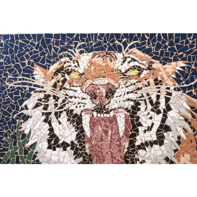 Mosaic Tiger Coffee Table - Image 5 of 7
