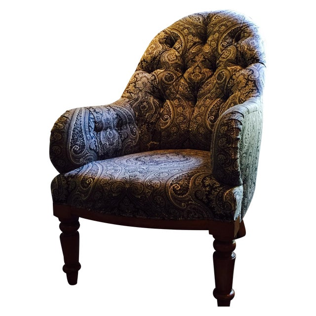Rose Tarlow Melrose House Kensington Armchair - Image 1 of 3