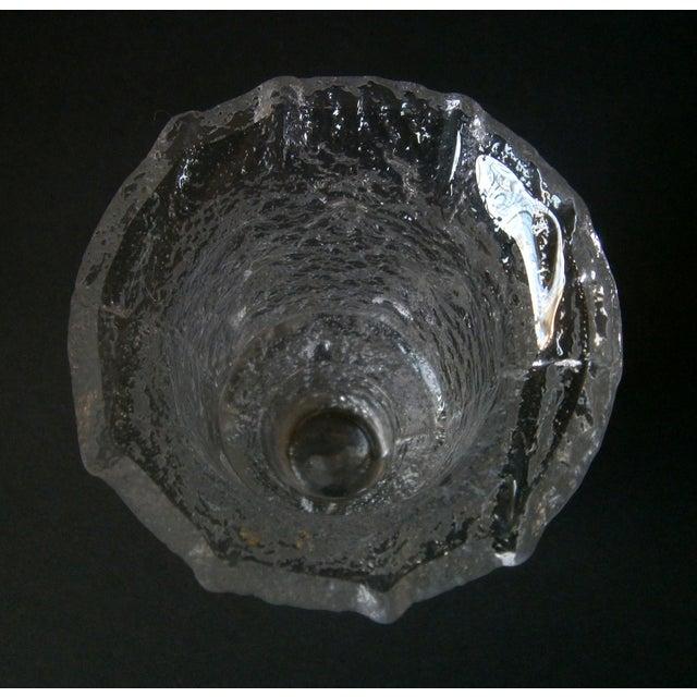 1968 Iittala Nardus Glass Vase by Timo Sarpaneva - Image 4 of 5