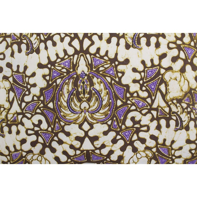Vintage Batik Pillow - Image 2 of 2