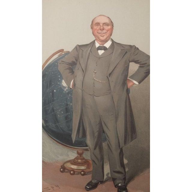 Image of 1905 Original Vanity Fair Scientist Print by Sir Robert Ball