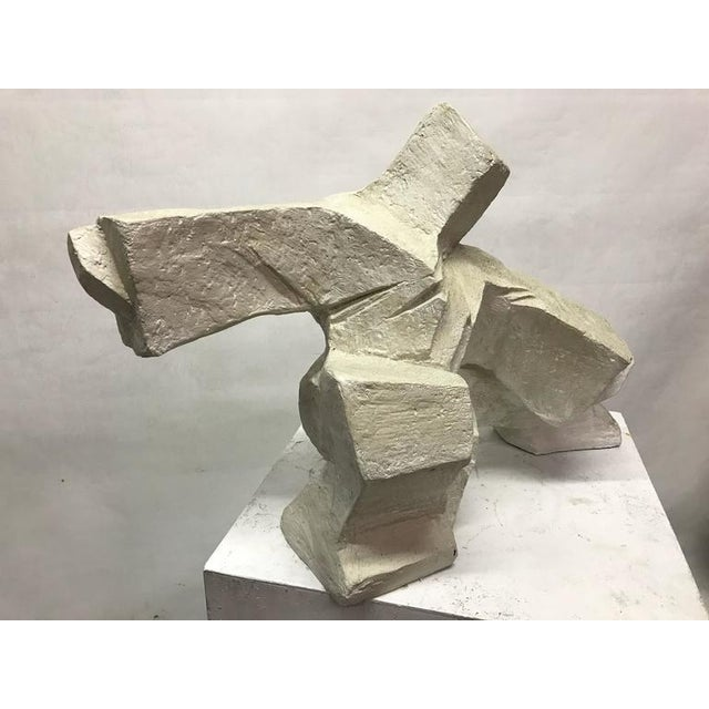 Abstract Figurative Plaster Sculpture - Image 4 of 4