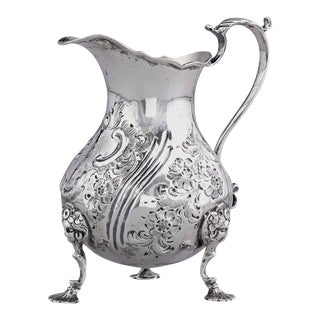 Silver Cream Pitcher by Francis David Dexter