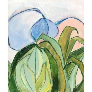 "Brenna Giessen ""Coastal Moon"" Original Abstract Painting"