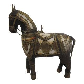 Boho Chic Wood Horse
