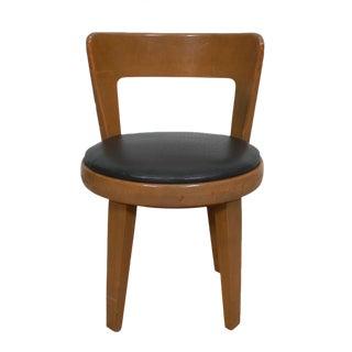 Edward Wormley Swivel Vanity Chair