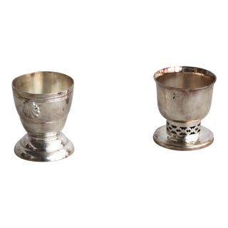 Silver Sipping Cups - A Pair