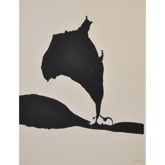 "Robert Motherwell ""Africa No.9"" Silkscreen C.1970 - Image 2 of 8"
