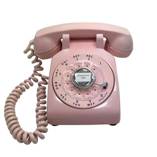 Western Electric Model 500 Pink Rotary Dial Telephone