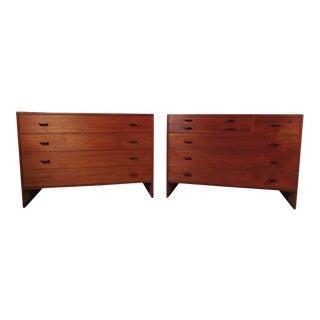Scandinavian Modern Dressers - a Pair