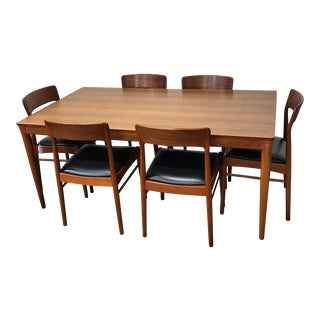 Kai Kristiansen Danish Modern Dining Set - Set of 7