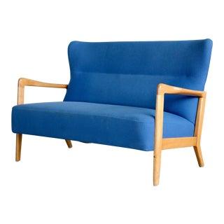 Soren Hansen for Fritz Hansen Mid-Century Modern Love Seat