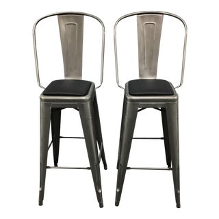 Design Within Reach Tolix Barstools - Pair