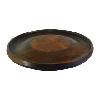 Dansk Rare Woods Wenge & Teak Tray & Cheese Board