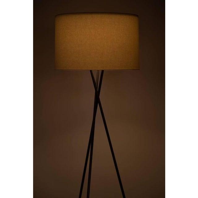 Monumental Bronze Floor Lamps - Image 2 of 6