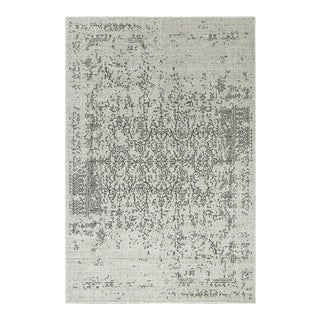 Distressed Turkish Gray Rug - 8' x 10'7""
