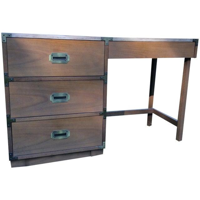 """1960's Drexel """"Campaigner"""" Desk - Image 1 of 8"""