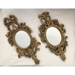 Image of French Baroque Gilt Mirrors - A Pair