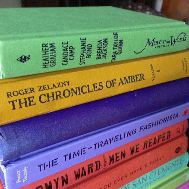 Brightly Colored Decorative Books - Set of 13 - Image 7 of 11