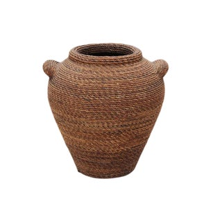 Rope Over Terracotta Vase