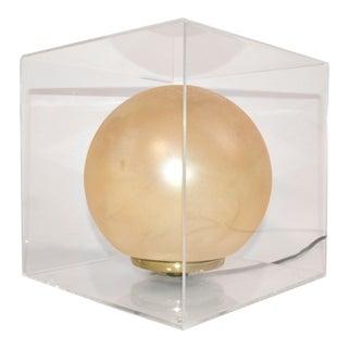 Acrylic Cube Lamp