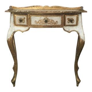 Petite Florentine Desk or Vanity