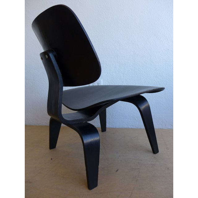 """Eames """"Lounge Chair Wood"""" Chair - Image 3 of 10"""