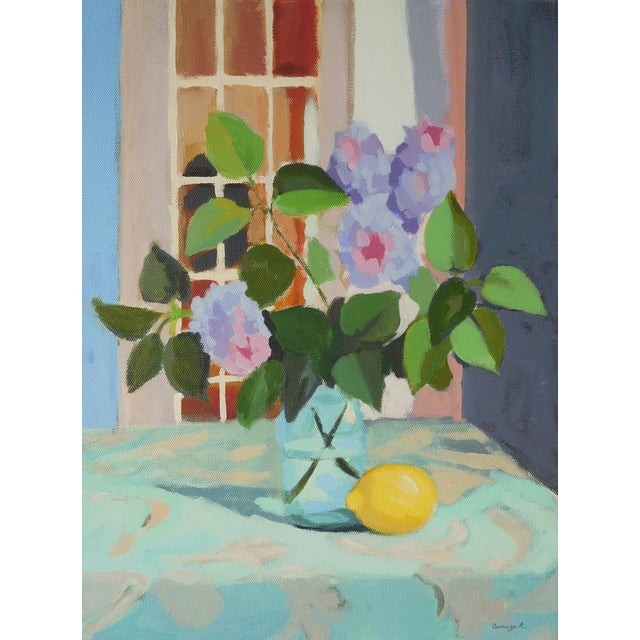 """Lilac With Lemon"" by A. Carrozza Remick - Image 1 of 6"