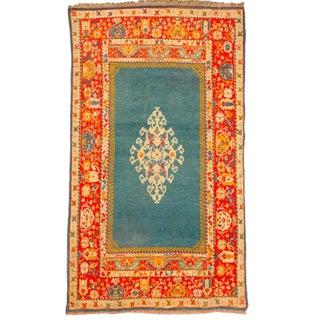 Antique 19th Century Turkish Oushak Rug