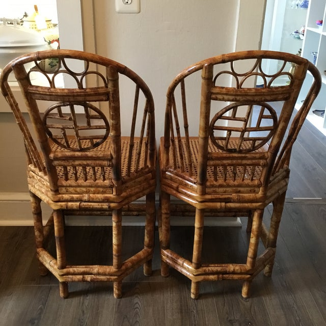 Vintage Brighton Chinese Chippendale Chairs - A Pair - Image 9 of 11