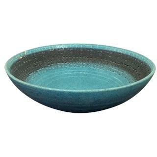 Vintage Italian Raymor Bitossi Pottery Bowl