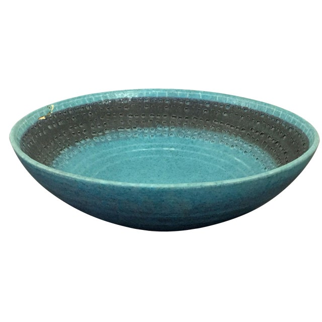 Vintage Italian Raymor Bitossi Pottery Bowl - Image 1 of 6