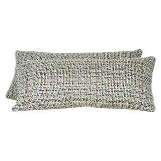 Romo Fabric Lumbar Pillow Covers - a Pair