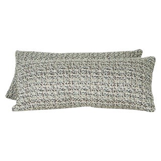 Romo Fabric Lumbar Pillows - A Pair