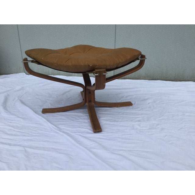 1960's Stanform Modernist Leather Ottoman - Image 3 of 9