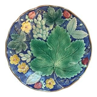 Swedish Majolica Plate
