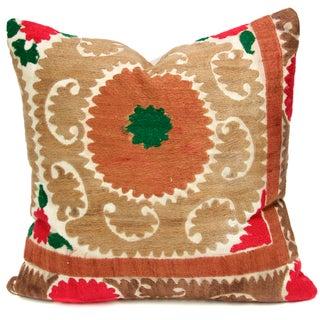 Vintage Suzani Bhag Pillow