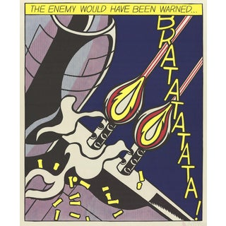 Roy Lichtenstein, The Enemy Would Have Been Warned (Panel 2) Poster