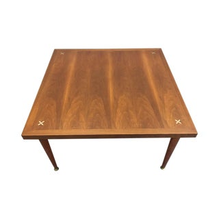 Mid-Century Modern Coffee Table X Inlay