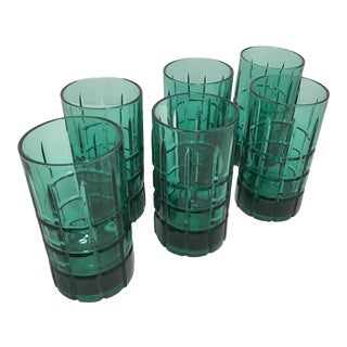 Anchor Hocking Highball Glasses - Set of 6