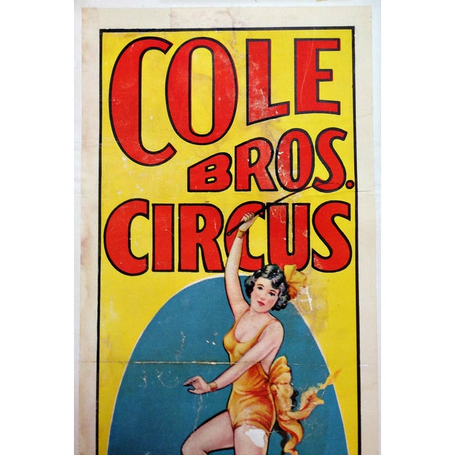 """""""Miss Rose Reiffenach"""" Circus Poster - Image 2 of 5"""