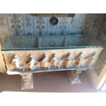 Image of Neoclassical Wheatley Garden Jardinière Console