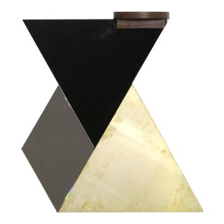 Brass, Bronze, & Black Wall Tiles - Set of 4