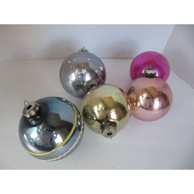 Christmas Ornaments Shiny Brite - S/5 - Image 3 of 6