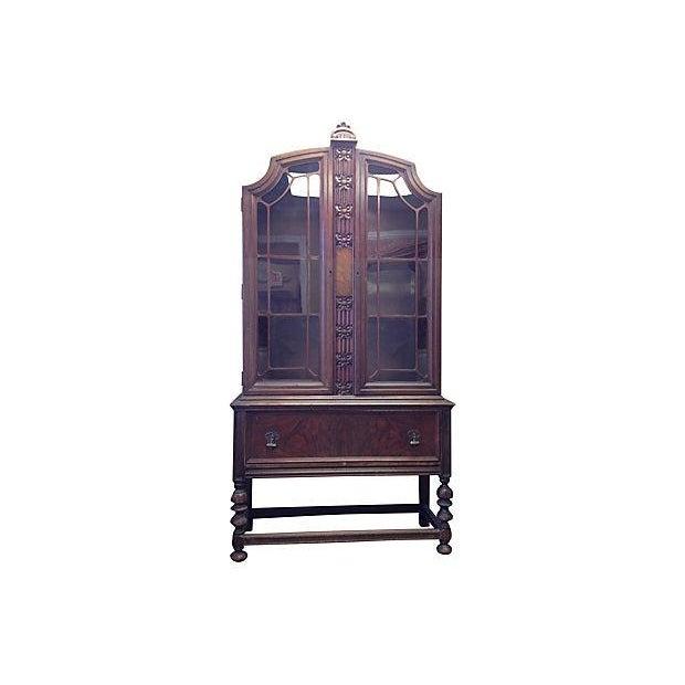 Image of Glass Door China Cabinet