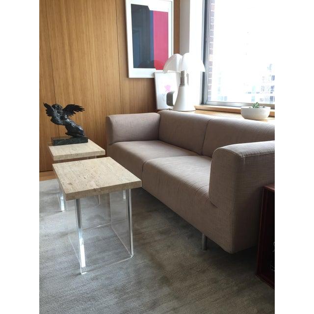 Cassina Met 250 Beige Sofa by Piero Lissoni - Image 5 of 10