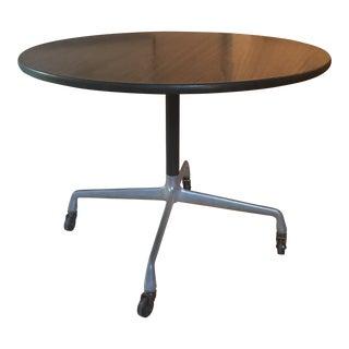 Eames Herman Miller Pedestal Table on Casters