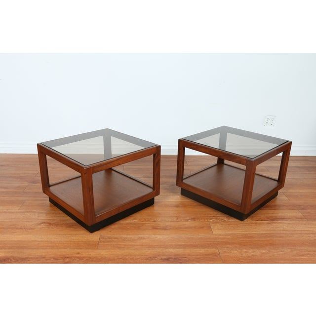 Brown & Saltman Side Tables- A Pair - Image 9 of 10