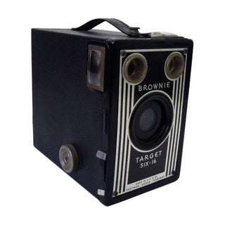 Vintage Art Deco Eastman Kodak Brownie Target Six
