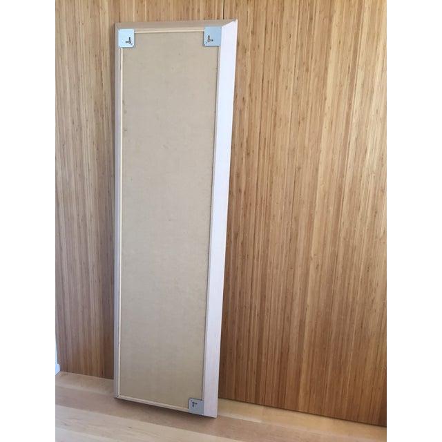 Ligne Roset Floor Standing Oak Frame Mirror - Image 8 of 9